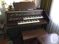 Eminent Solina B 417 Organ with original receipt paid