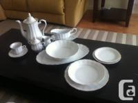 Empire by Walbrzych china made in Poland. White,