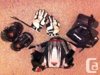 Used, Utilized Boys Lacrosse Gear. Shoulder pads by Gremlin, for sale  British Columbia