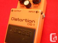Rare vintage Boss DS-1 Distortion, made in Japan, in