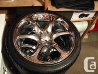 "4 Manager Motorsports 20"" Rims. 5 x 112 bolt pattern,"