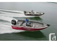Late model year specials on Crestliner Fishing Boats,