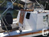 The Endurance 35 is a classic long-distance cruiser