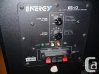 Energy 5.1 Surround Sound Cinema Quality Speakers