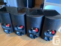 Sale my Energy speakers 4 pc. And Polkaudio center