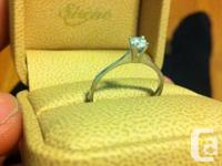 Hi, I'm selling brand new engaging ring 10k diamond,