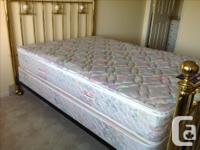 Beautiful brass bed from London. Double mattress. In