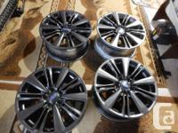ENKEI WRX 17 inch Subaru Rims 2015 and Up Refinished