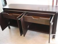 MOVING SALE. Brown Buffet/entertainment unit From The