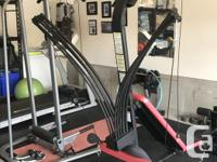 Treadmill, Select Tech Barbells, Body Tower, Full Home