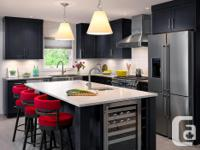 3 years old kitchen cabinets with seperate island with