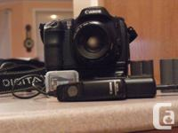 Canon EOS 10D Digital single lens Reflex Camera.