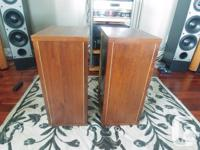 $150.00 Classic vintage speakers! In mint condition.