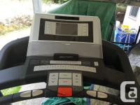 Epic View 550 Treadmill $500 OBO. Works well, only used