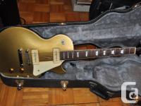 Epiphone 2004 Les Paul Gold Top '56 avec P90, clés for sale  Nova Scotia