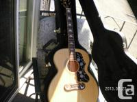 Epiphone jumbo ej200. Played a couple off times. James for sale  British Columbia