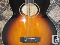"Epiphone ""El Capitan"" Acoustic-Electric Bass Guitar in"