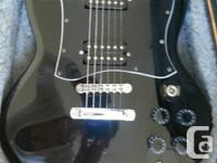 EPIPHONE SG-310 WITH HARD SHELL CASE  STRAIGHT UP for sale  Ontario
