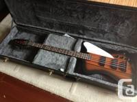 Selling my Epiphone Thunderbird IV Reverse base guitar for sale  British Columbia