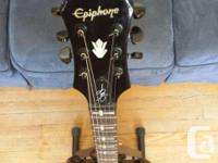 Used, Epiphone Tony Iommi SG with upgraded cross inlays for sale  Quebec