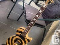 Marketing my Epiphone Zakk Wylde bullseye Les Paul with