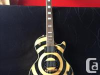 Great condition Zakk Wylde Les Paul with USA EMG