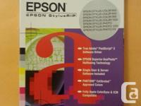 EPSON StylusRIP -Pour Macintosh ou Windows -Neuf
