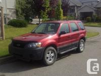 2006 Ford Escape. Great little SUV when running