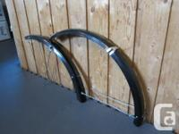 - ESGE (now German SKS) 65mm front and also back bike