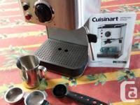 Espresso Maker, double cup, Cuisinart EM-100 C,