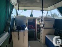 ESTATE SALE: 21.5 Ft. Glasply boat, 350 Chev inboard