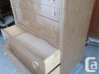 THIS CHEST OF DRAWERS IS 30 INCHES WIDE, 17 1/2 INCHES