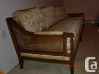 Beautiful antique couch and chair set, newly