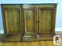 marble topped solid wood cabinet on wheels lovely