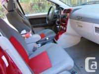 Make Dodge Model Caliber SXT Year 2007 Colour red kms