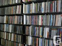 A Fabulous,unique collection of over 7000 CDS is