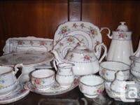 91 pieces of Royal Albert Petit Point China.  Never