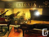 """ Steinway quality - true European sound"""