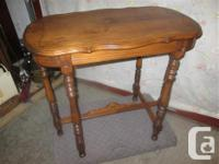 "THIS SPECIAL TABLE IS 32 1/2"" HIGH, 19 1/4"" DEEP & &"
