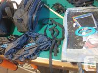 EUC, Like new oxford 48L expandable saddle bags heavy