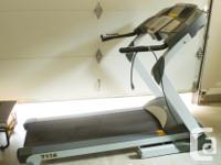 Programmable workouts/quick incline/heart & calorie