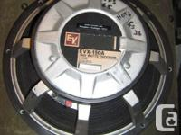 New EV EVX 150a 1000 watt theater speaker (two