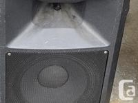 EV Sx200 speakers EV Sx120a subs, Mackie CR1604 VLZ for sale  British Columbia