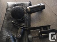 I have three EV ElectroVoice microphones with mic