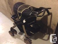 Giving away 'AS IS ' an Evenflo Travel System Stroller.