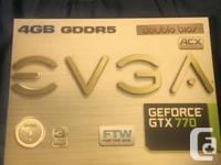 Evga Geforce Gtx 770 Ftw 4Gb Dual Displayport Hdmi