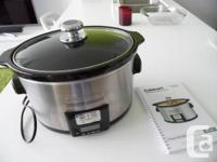 Up for sale is a Cuisinart 3.5 Quart Programmable Slow