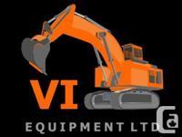 John Deere, Hitachi as well as Caterpillar excavator
