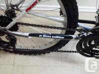 "upgraded 21 speed mountain bike. 16/17"" Alloy frame"