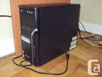 3 Hard disks (320 SATA, 230, 230 GB). 2GB RAM.